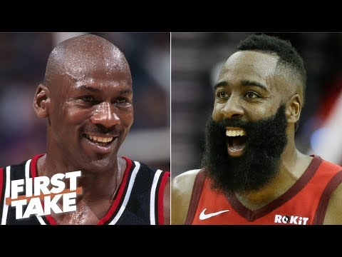 Video: Calling Harden a better scorer than MJ is absurd - Will Cain rips Daryl Morey   First Take