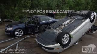 NOT FOR BROADCAST*** Contact Brett Adair with Live Storms Media to license. brett@livestormsnow.com Major flood damage...
