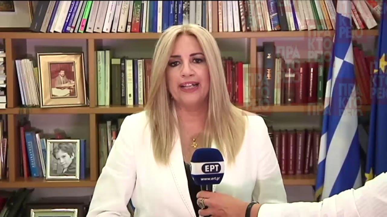 Φ. Γεννηματά: Η κυβέρνηση κάνει τον Πόντιο Πιλάτο για τους πλειστηριασμούς