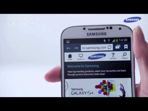 """Samsung Galaxy S4 - prezentacja funkcji """"Air gesture"""""""