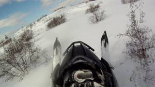 10. arctic cat xf 8000 jaws exaust (a nice day for a nice ride)