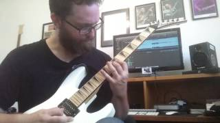 Judas Priest - The Hellion/Electric Eye (Guitar Cover w/ Solo)