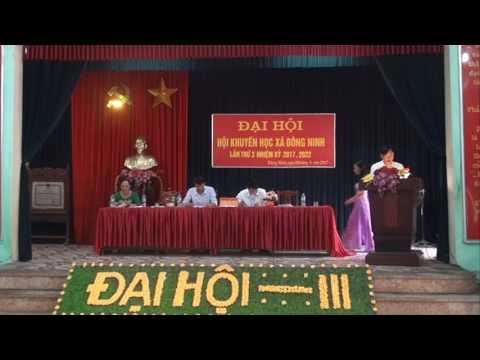 Đại hội Khuyến học xã Đông Ninh