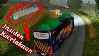 Video Ada Kecelakaan !! Jam Malam di Jalur Selatan diguyur Hujan Deras !! / Ets2 Mod Bus Indonesia MP3, 3GP, MP4, WEBM, AVI, FLV Agustus 2018