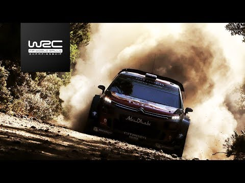 WRC - Rally Italia Sardegna 2017: Highlights / Review Clip
