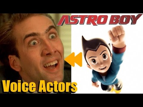 """""""Astro Boy"""" Voice Actors and Characters"""