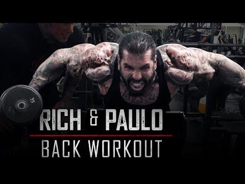 Nutrition - BACK WORKOUT - RICH PIANA - PAULO