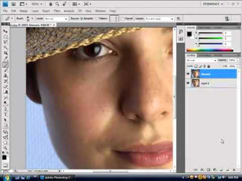 How to Retouching Photoshop – Smooth Skin