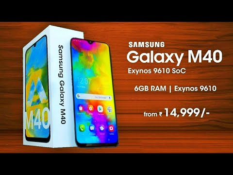Samsung Galaxy M40 - 48MP Camera, Indisplay Fingerprint, Triple Rear Camera | Samsung Galaxy M40