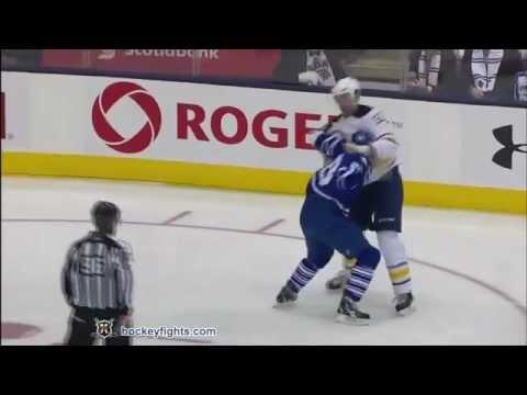 Friday night's hockey fight.