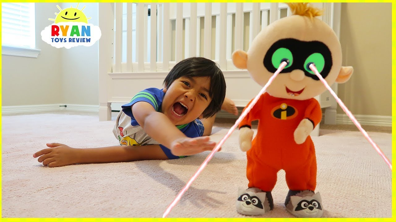 The Incredibles 2 Jack Jack escape from Ryan!!!