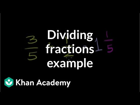 Dividing fractions 35 12 video khan academy ccuart Images
