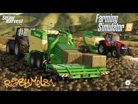 Addon Straw Harvest Bonus Pellet Heat Plant v1.0