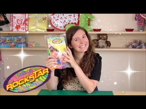 rockstar - Mallow Everyone! So today we are reviewing Rockstar Loom bands! I am not being paid to advertise this product and I am not being paid by Amazon. I just wanted to show you all what's inside...