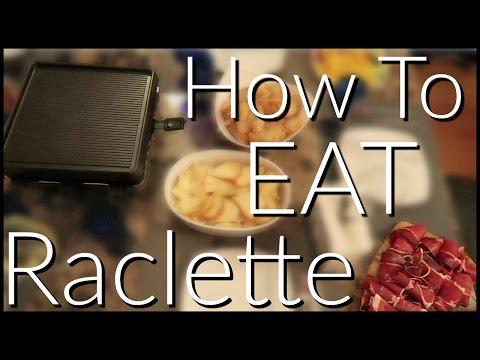 How To Eat Raclette (The NYC Couple)