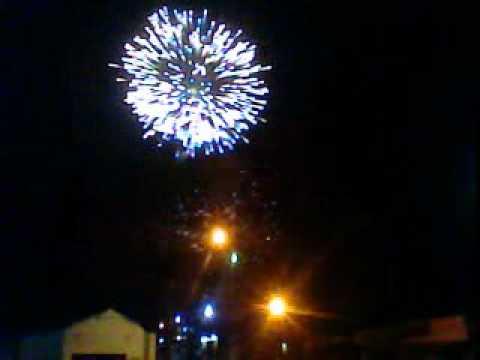 Reveillón em ibateguara 2012 fogos