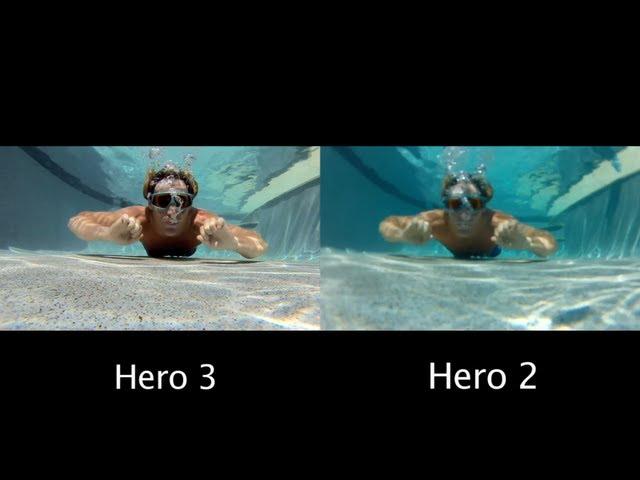 mp gopro hero  vs