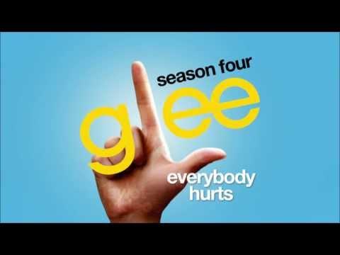 Everybody Hurts - Glee cast [HD FULL STUDIO] (видео)