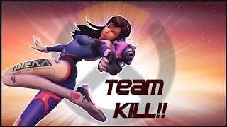 Nerf This- D.Va gets Tilted Wipes Enemy Team