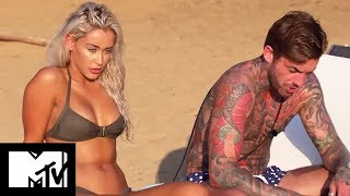 EX ON THE BEACH 605 | AARON'S EX BECCA RAGES | MTV UK