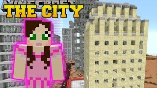 Minecraft: SKYSCRAPERS! (SURVIVE IN A CITY, TOWN, & VILLAGE!) Mod Showcase by PopularMMOs
