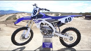 Video: First Ride 2015 Yamaha YZ450F