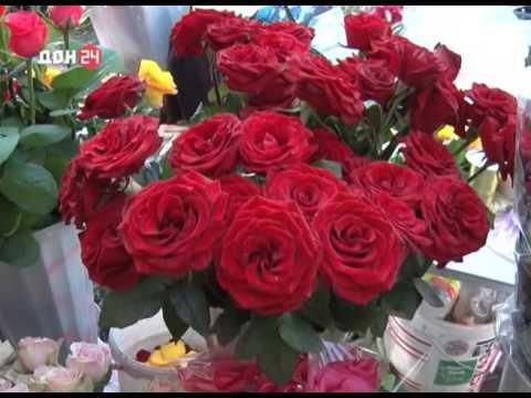 О проверке торговли цветов на рынке в Ростовской области