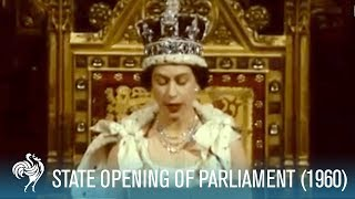 Video Queen Elizabeth II Speech: State Opening Of Parliament (1960) | British Pathé MP3, 3GP, MP4, WEBM, AVI, FLV Juli 2018