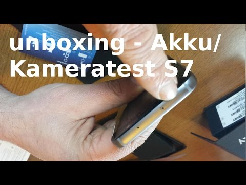 Samsung S7 vs S4 unboxing - Kamera / Akku Test