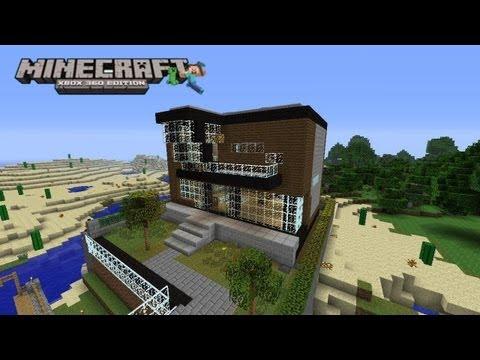 Casa minimalista minecraft videos videos relacionados for Casa moderna xbox 360 minecraft