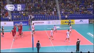 World League 2015 Montenegro 3-0 Tunisia, Red No.9