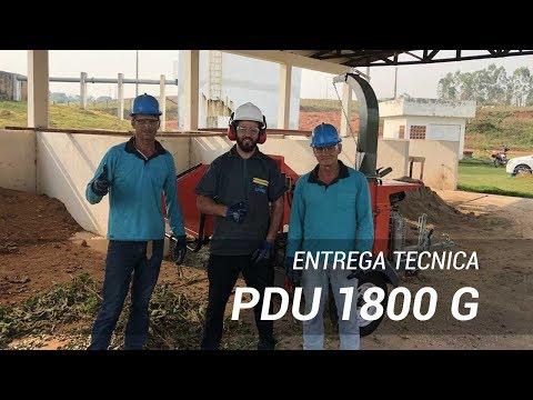Triturador de Galhos PDU 1800 G - Treinamento Técnico de Operação Lippel