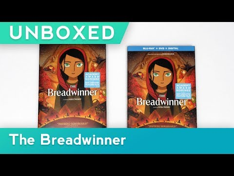 GKIDS UNBOXED | THE BREADWINNER | BLU-RAY + DVD + DIGITAL UNBOXING