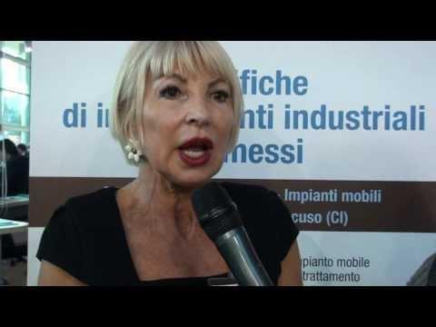 Intervista a Cesarina Ferruzzi di Ambienthesis @ Ecomondo 2013.