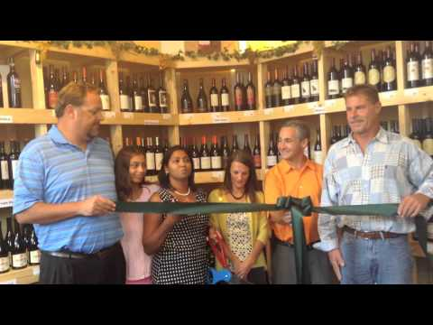 La Bouteille Ribbon Cutting