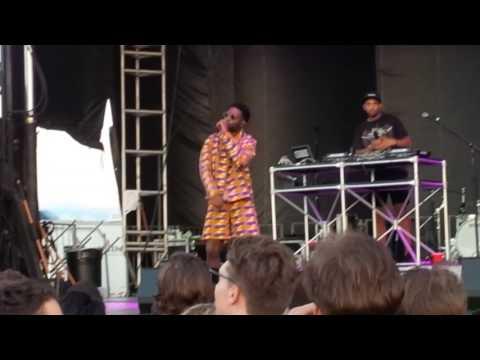 Tinie Tempah - Lightwork live at NXNE Port Lands Fest 2017 Toronto