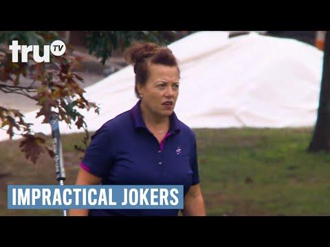Impractical Jokers - Sal's Shank Shots in Golf (Punishment) | truTV