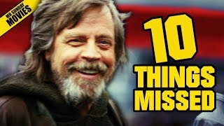 Video STAR WARS: THE LAST JEDI D23 Trailer - Things Missed & Easter Eggs MP3, 3GP, MP4, WEBM, AVI, FLV Juli 2018