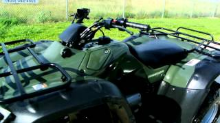 10. 2006 Honda Rancher 350 Olive Green Overview Review Walk Around