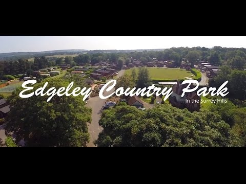 Edgeley Holiday Park, in the Surrey Hills (видео)