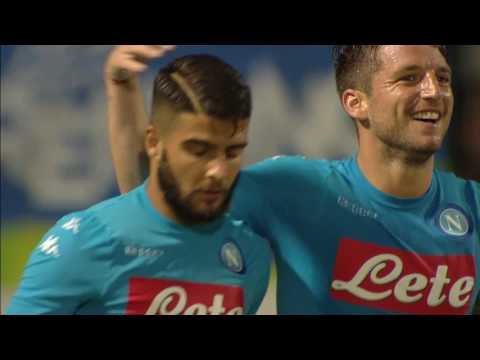 napoli - v.entella 5-0. video highlights con i gol