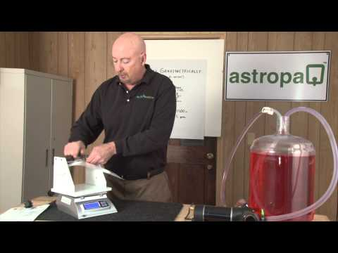 Filling the Astropaq® Flexible Wine Pouch