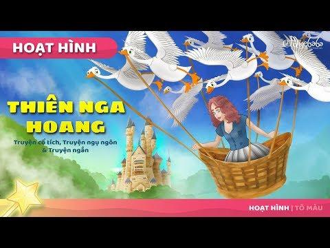 Công Chúa và thiên nga hoang dã câu chuyện cổ tích - Truyện cổ tích việt nam - Hoạt hình cho Trẻ Em - Thời lượng: 11 phút.