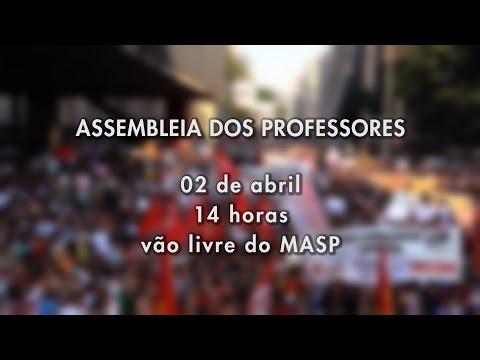 NOVA ASSEMBLEIA DOS PROFESSORES 02/04/2015