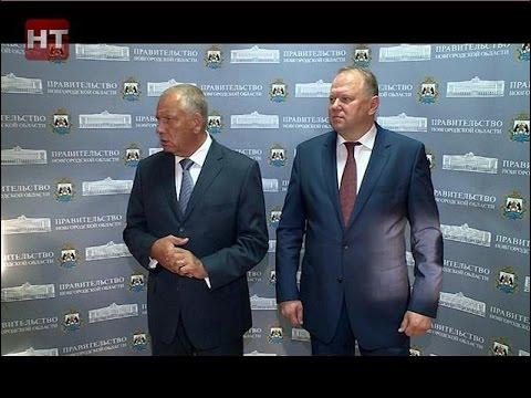 Губернатор Сергей Митин и накануне занявший должность полпреда президента в округе Николай Цуканов провели пресс-конференцию