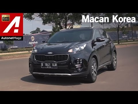 Kia Sportage Gt Line Review Test Drive By Autonetmagz Action