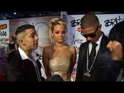 JLS have declared war with N-Dubz! Video