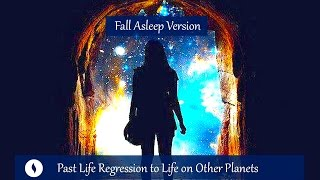 This is the sleep version of the past life regression hypnosis to discover if you had a life on another planet before, useful for anyone who identifies as indigo or starseed or has the feeling of having lived elsewhere before.This version has an extended relaxation introduction to allow anyone with a busy or analytical mind to relax more deeply into this session. There is a transition to sleep at the end, no count up.This session can also just be used for sleep, as you are always in control and can choose which messages to take on, so you can choose to just take in the extended relaxation intro.As all hypnosis is self-hypnosis, you are always in control. This is never intended to convince you of a past life. You may experience nothing at all, some fragments or a full experience. This is intended to be a wholly positive experience, to give you a greater sense of understanding, identity and, if relevant, mission or purpose; to feel more at ease and with greater self-acceptance in this life. Spiritual Hypnosis playlist: http://bit.ly/2dOtMXoThink Yourself Slim playlist: http://bit.ly/2dFmAM5Deep Sleep playlist: http://bit.ly/2dDf1oUPositive Daily Affirmations: http://bit.ly/2evKyqMSetting Boundaries and Assertiveness: http://bit.ly/2dTttYKHealing Hypnosis: http://bit.ly/2dWzBE2Self-Esteem playlist: http://bit.ly/2dOt9NFThink Yourself Slim Program:http://www.thinkyourselfslim.com for just $69.90 USD, Get $5 off a minimum $25 purchase on all mp3s (excluding the Think Yourself Slim Program) by using code UYL5 at www.unlockyourlifetoday.comSubscribe to Unlock Your Life's Youtube Channelhttp://bit.ly/1NbGwlXConnect on Facebook and gain access to exclusive offers and the occasional mp3 gift: http://www.facebook.com/unlockyourlifetodayUnlock Your Life Mp3s on iTunes: https://itunes.apple.com/artist/unlock-your-life/id1034660915Think Yourself Slim MP3s on iTunes:https://itunes.apple.com/artist/think-yourself-slim/id1009734404-----------------------------------------------------You must be of adult age in your state, or country or gain caregiver or parental approval to listen. These recordings are intended for relaxation, self-improvement and entertainment purposes only.   Hypnosis is not a replacement for any counseling or psychotherapy.  These recordings do not diagnose, cure or prevent any mental or physical health condition or illness or prevent any illness or condition of the body or mind, they cannot tell you what will happen to you in the future.  If you think or know you have a health issue, talk to your doctor before listening to any part of this recording.  Never delay, change or stop any treatment, medication or regime without consulting with your doctor or health care professional first.  Never change your lifestyle, including but not limited to diet, exercise, sleep or anything else without consulting with your doctor first and following his or her advice. If you ever feel unwell at any time while listening to these recordings, you must seek immediate medical attention.  You should continue taking regular medical check-ups.If you know you have any kind of mental health issues, you should NOT buy or listen to any of our hypnosis recordings. If you wish the benefits of hypnotherapy, ask your counselor or therapist.By listening to this recording you confirm that you have checked any suspected or confirmed mental or physical health condition with a doctor and you accept full responsibility for all outcomes.  You understand that hypnosis is merely a process of suggestion and you can always accept or reject the suggestions you receive.  You are always in control.   All hypnosis is self-hypnosis.  Therefore we cannot guarantee, (a) that you will get any results at all or; (b), that any results you do get will be permanent.Please only ever listen to any of these recordings when you are in a quiet space, ideally at home or in a quiet room.  Never listen to any of these recordings while driving or operating machinery or when required to remain alert to your environment as you may become very relaxed and may even fall asleep.All recordings are best listened to on headphones.All scripts are unique and protected by copyright law by © Sarah Dresser 2015 / 2016 and may not be transcribed, re-used or re-recorded in part or whole whether for public or private practice use.  All recordings are also copyright protected and are not permitted for public broadcasting, or any form of paid or unpaid distribution other than for private, individual use.  These recordings may be removed or deleted at any time with no notice.
