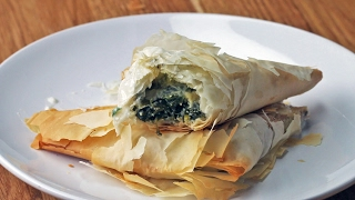 Greek Spinach Pies by Tasty