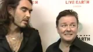 Ricky Gervais And Russell Brand - funniest interview ever!